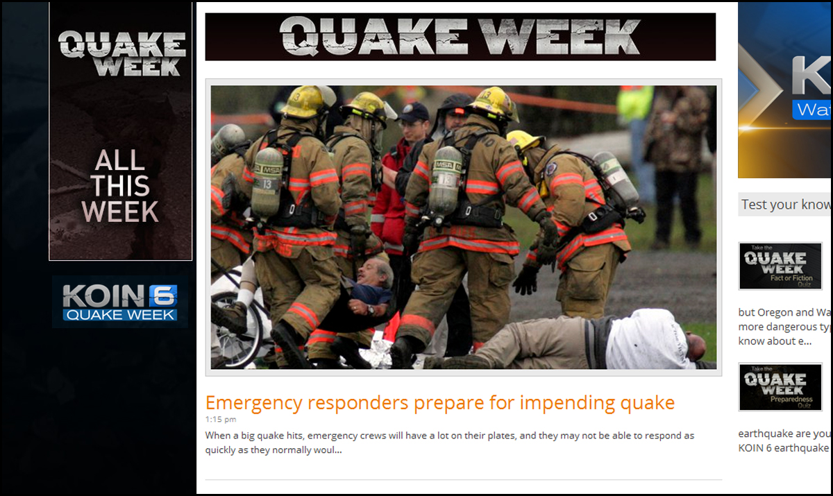 EARTHQUAKE WEEK